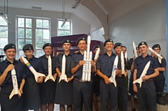 The Saddleworth Air Cadets got stuck into the Schools Micro Gravity Rocket Experiment