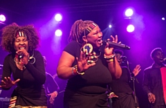 The London African Gospel Choir, together with their amazing band, will present their own powerful twist on Paul Simon�s �Graceland�