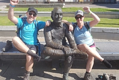 Mark and Claire completed the West Highland Way earlier this year