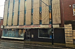 The former Chronicle newspaper base on Union Street