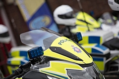 Greater Manchester Police bikes