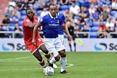 Striker Chris O'Grady.