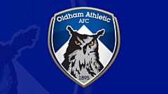 Oldham Athletic narrowly missed out on a draw