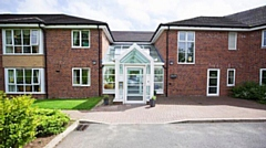The Treelands care home in Fitton Hill