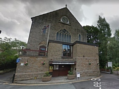 Uppermill Civic Hall, picture courtesy of Google Street View