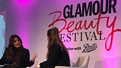 A conversation with Deborah Joseph and Louise Redknapp at the event
