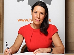 Debbie Abrahams has signed the Holocaust Educational Trust�s Book of Commitment.