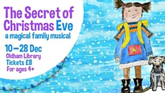 The show comes to Oldham Library from the 10th December.