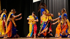 Indian dancers at last year's Festival of Light