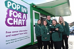 Macmillan Cancer Support�s mobile service will be visiting Oldham next week