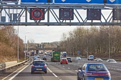 Smart Motorway in Greater Manchester