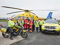 North West Air Ambulance can now perform blood transfusions at the roadside