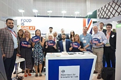 Delegates from the North West at the Gulfood Festival