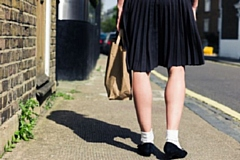 Upskirting is now a crime, punishable by up to two-years in prison