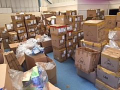 10,000 unsafe products were seized
