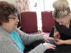 Mobile nail bar is part of Greenshoots programme
