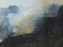 Fire in Saddleworth and Oldham