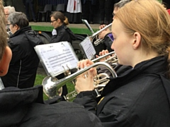 Hundreds turned out to watch bands from around the world