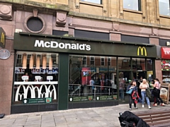 The Oldham town centre McDonald's restaurant