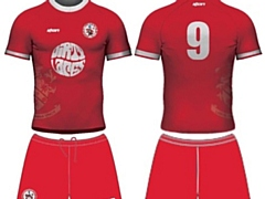 How Chadderton FC's kit will look next season