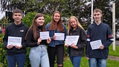 Crompton House students celebrate their GCSE results