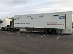If approved, the trailer would provide services to NHS patients for a temporary period of five years