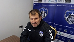 Latics Manager Laurent Banide