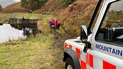 Oldham Mountain Rescue Team had an eventful Sunday