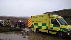 Oldham Mountain Rescue and North West Ambulance service worked to rescue the woman.