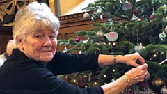 Hospice volunteer Pat Swinborne