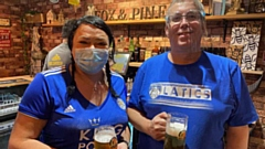 Leicester-born Michelle and Latics fan Chris