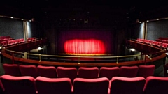 The view from the Circle seats at the Oldham Coliseum Theatre