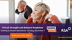 RoSPA and RSA will host two online sessions on Tuesday, December 1 at 10am and 2pm