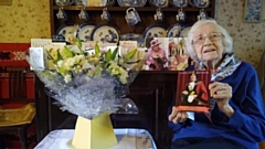 Happy birthday! - Jean Sykes is 100 today