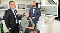 The Deputy Mayor with Directors of Ascroft Medical in Oldham