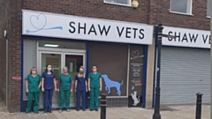 The team at Shaw Vets