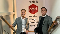 PMD Business Finance�s new recruit Callum Bull, who will work as the firm�s new business development director, alongside company director Tom Brown