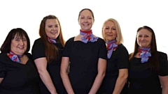 The new Barrhead Travel Agency Team