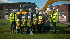 Building works will double the number of pupils on roll