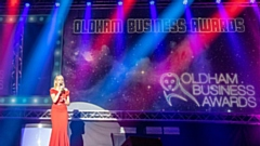The BBC's Louise Minchin was the guest speaker at last year's Oldham Business Awards finals night