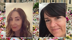 Lisa Lees and Alison Howe from Royton