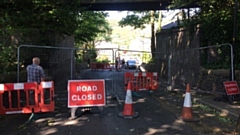 Church Road has been closed from Pickhill to Wellmeadow, and also a bridge spanning�the bridle path is blocked
