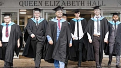 Happy days: For UCO students at their graduation ceremony last year