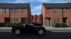 The Phoenix Ironworks development will be a mix of one bedroom apartments and two and three bedroom family homes