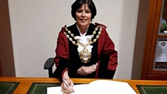 Mayor of Oldham Cllr Ginny Alexander