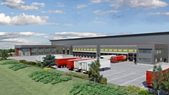 The proposed warehouse in Chadderton