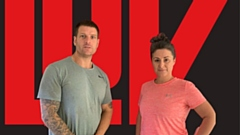 LUV Fitness trainers Nick and Louise