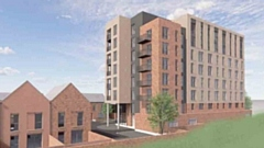 The plans for the First Choice Homes West Vale development in Oldham