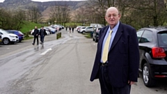 Councillor Kevin Dawson pictured at Dovestone Reservoir
