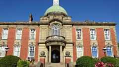 Chadderton Town Hall, new office of MP Jim McMahon